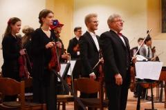 Beifall für die Geigen